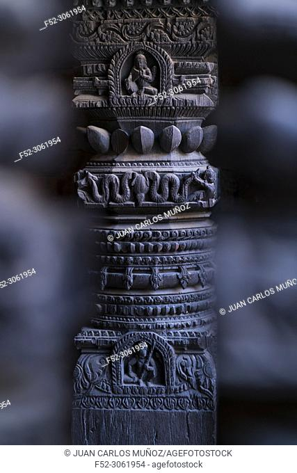 Malla's Royal Palace, Durbar Marg, Patan, Lalitpur Metropolitan City, Kathmandu Valley, Nepal, Asia, Unesco World Heritage Site