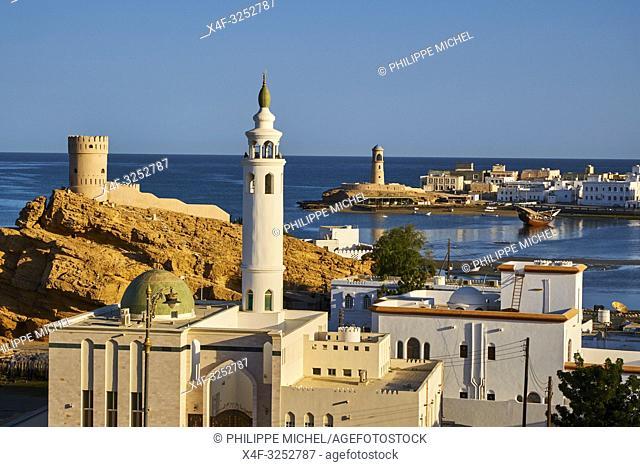 Sultanate of Oman, Al Sharqiya Region, Ayjah harbour in Sur