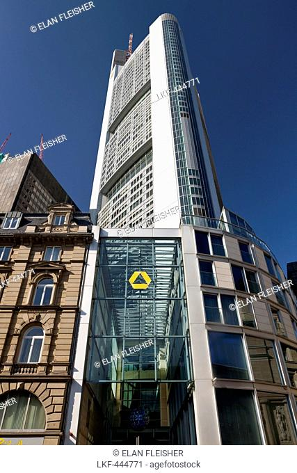 Commerzbank Tower, Frankfurt, Hesse, Germany