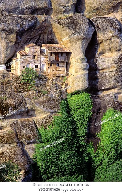 Ypapanti Monastery part of the Great Meteora Monastery Meteora Thessaly Greece