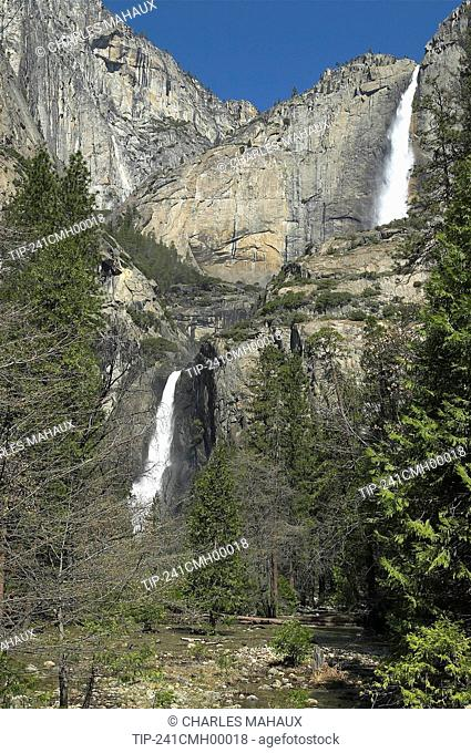 California, Yosemite National Park: Yosemite falls