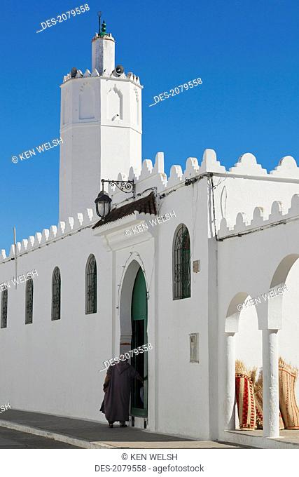 The grand mosque, asilah morocco