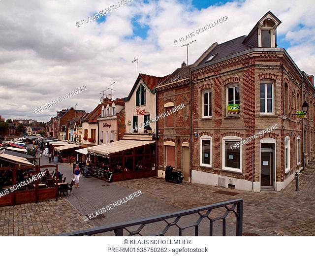 Quartier Saint Leu, Amiens, Departement Somme, Picardie region, France / Quartier Saint Leu, Amiens, Departement Somme, Region Picardie, Frankreich