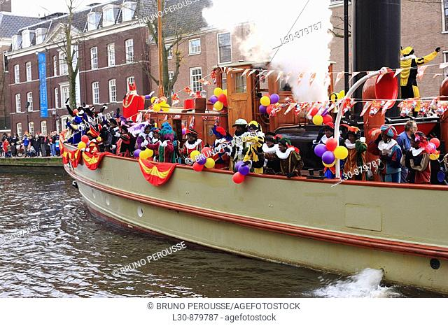 Sinterklaas's parade take place every year in the middle of November; Santa Claus (Saint Nicholas) arrives in the city by boat before riding through the streets...