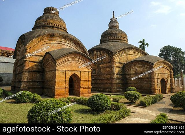 Gunavati Group of Temples. It is a group of three brick temples built in 1668 in the city of Udaipur, the ancient capital of Tripura. India