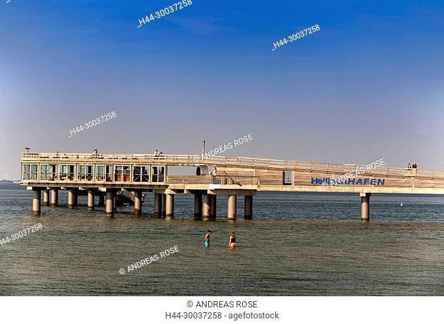 Seebrücke, Heiligenhafen, Schleswig-Holstein, Deutschland, Europa