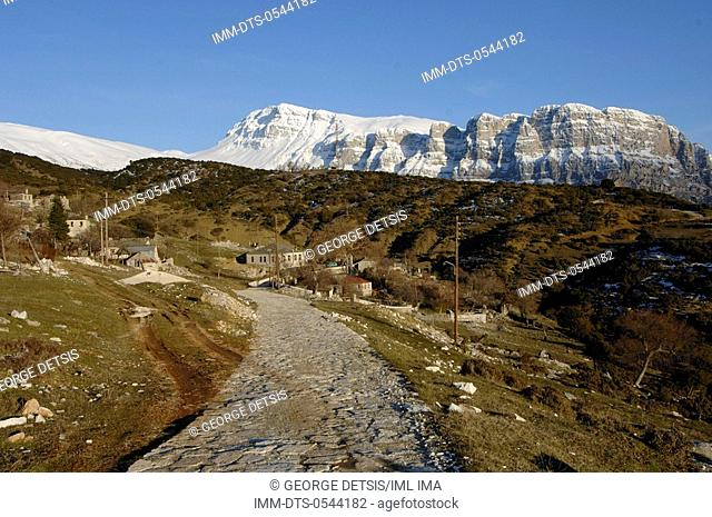 Ano Klidonia village. Ioannina, Epiros, Greece, Europe