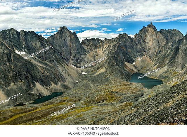 Twin Lakes, Tombstone Range, Yukon, canada