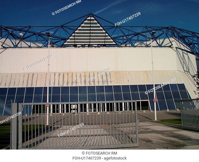 France, Albertville, Savoie, Rhone-Alpes, Europe, Ice Palace, Stadium