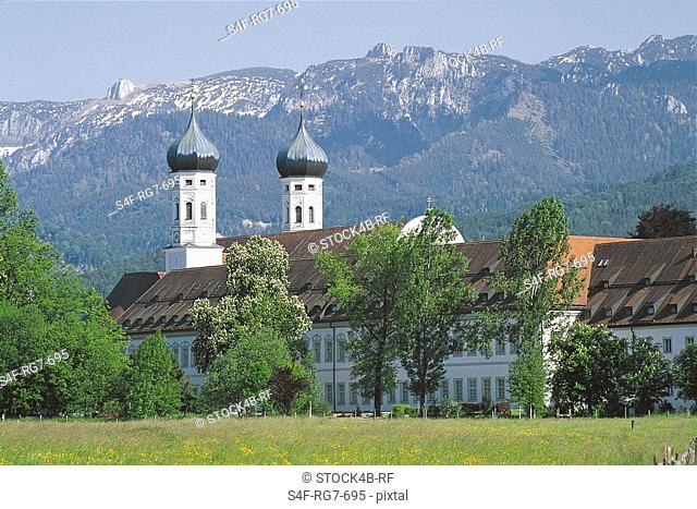 Benediktbeuern Abbey, Bavaria, Germany