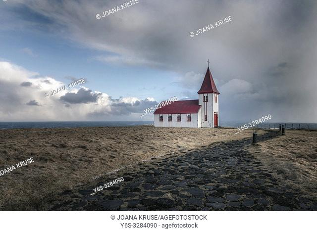 Hellnar, Snaefellsnes, Iceland, Europe