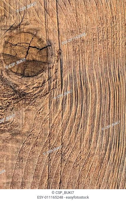 Old Knotted Plank