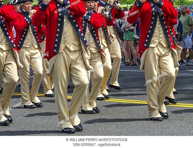Continental Army Flute Band Memorial Day Parade Washington DC