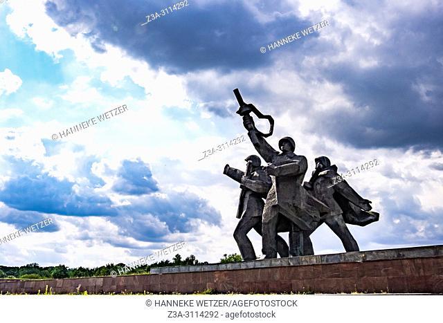 Soviet Victory Monument in Riga, Latvia, Europe