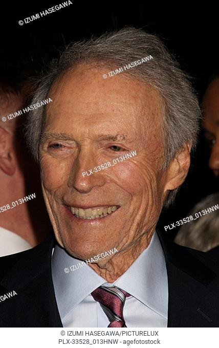 "Clint Eastwood 02/05/2018 The World Premiere of """"The 15:17 to Paris"""" held at The SJR Theater at Warner Bros. Studios in Burbank"