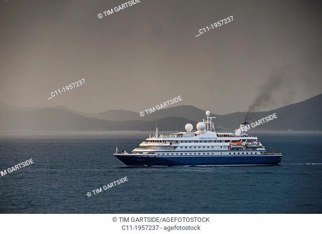 seadream yachts,Tortola; Road Town; British Virgin Islands; Caribbean