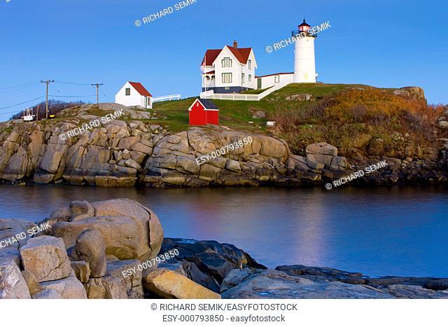 Nubble Lighthouse, Cape Neddick, Maine, USA