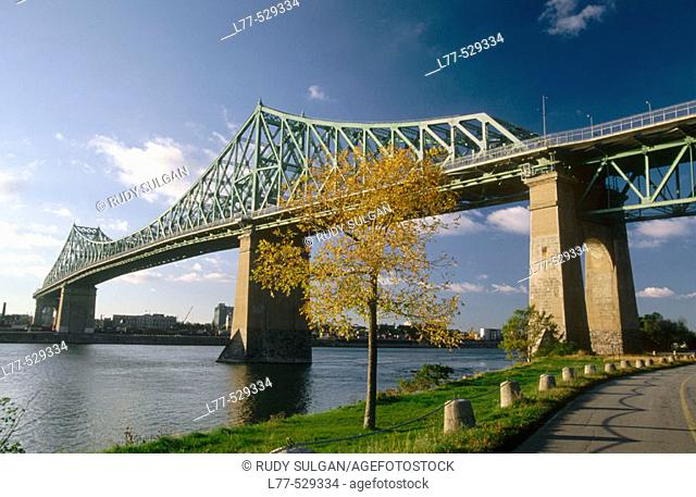 Jacques Cartier Bridge, Montreal. Canada