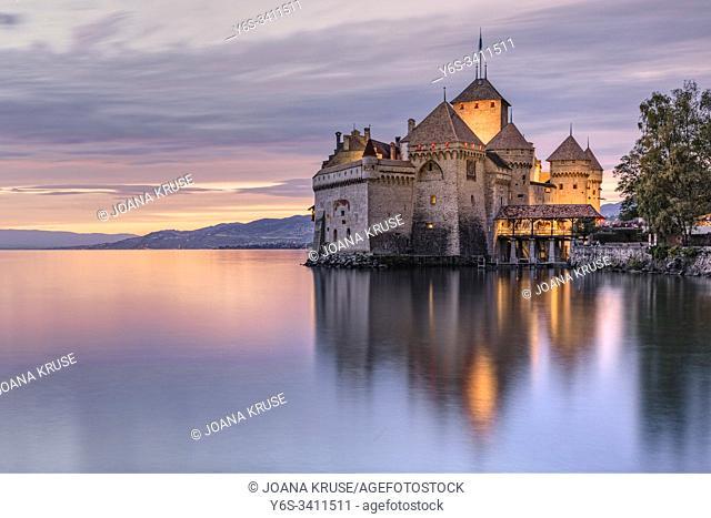 Veytaux, Vaud, Lake Geneva, Switzerland, Europe
