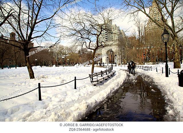 NYC's Washington Square Park