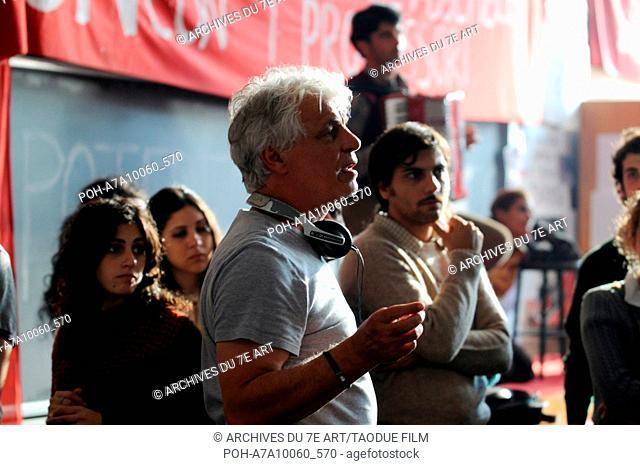 Il Grande Sogno  The Big Dream  Year : 2009 - Italy Director : Michele Placido Michele Placido Shooting picture Photo: Olimpia Pallavicino