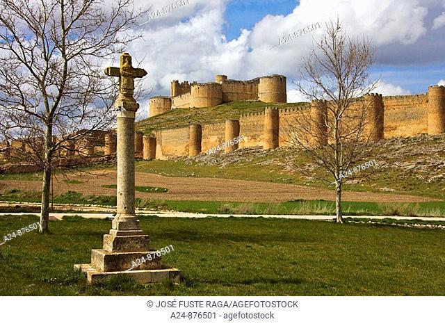 Castle, Berlanga de Duero. Soria province, Castilla-Leon, Spain (April 2009)