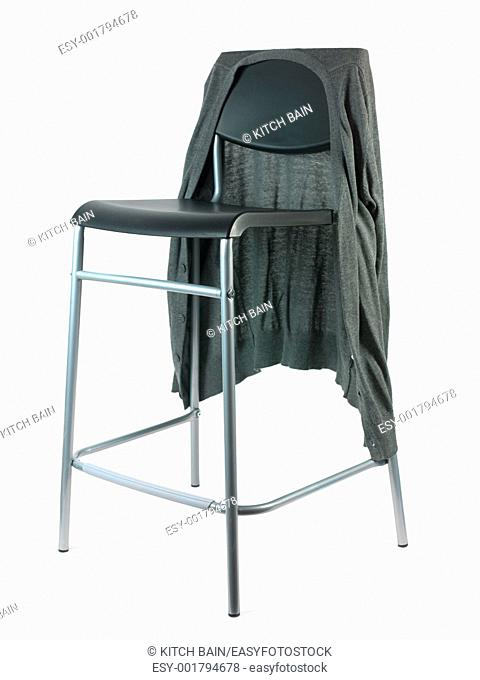 A stool isolated against a white background