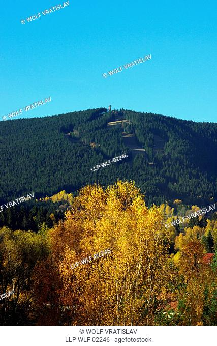 Spicak Mountain, Sumava National Park, the Southwestern Bohemia, Czech Republic