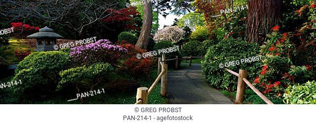 Japanese Tea Garden, San Francisco, California, USA, No Release