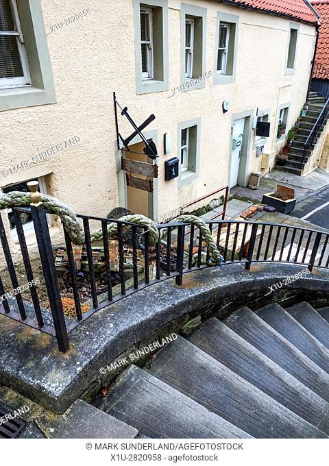 Auls Wemyss Ways Heritage Centre at West Wemyss Fife Scotland