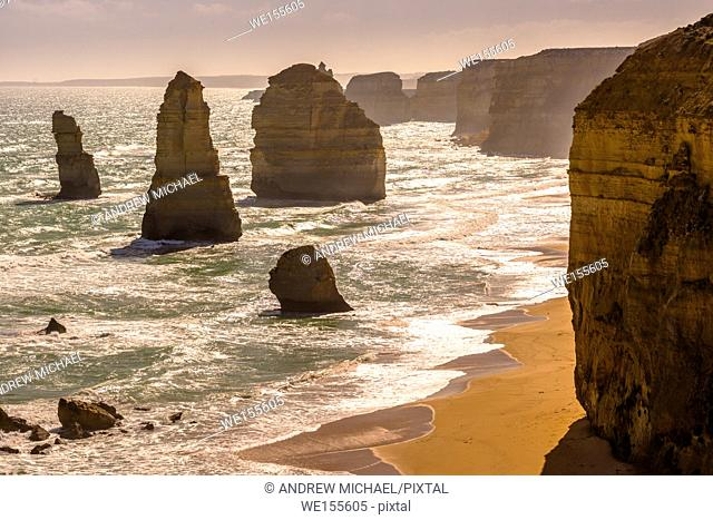 The Twelve Apostles off the Great Ocean Road, Australia
