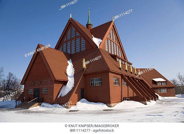 Church of Kiruna, Lappland, Northern Sweden