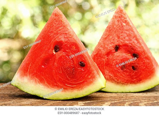 Watermelon pieces