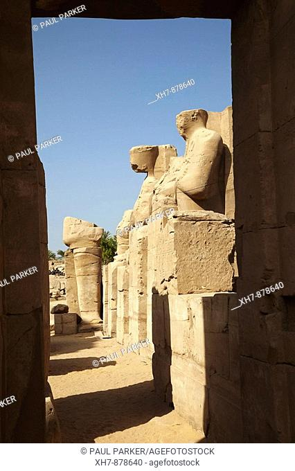 Karnak Temple of the God Amon, Luxor, Egypt