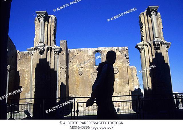 Old Cathedral (Santa Maria la Vieja church). Cartagena. Murcia region. Spain