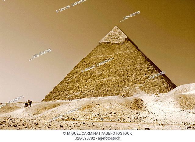 Pyramid. Giza. Egypt