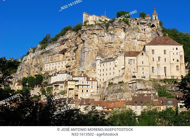 Rocamadour, Midi-Pyrenees Region, Lot Department, France, Europe
