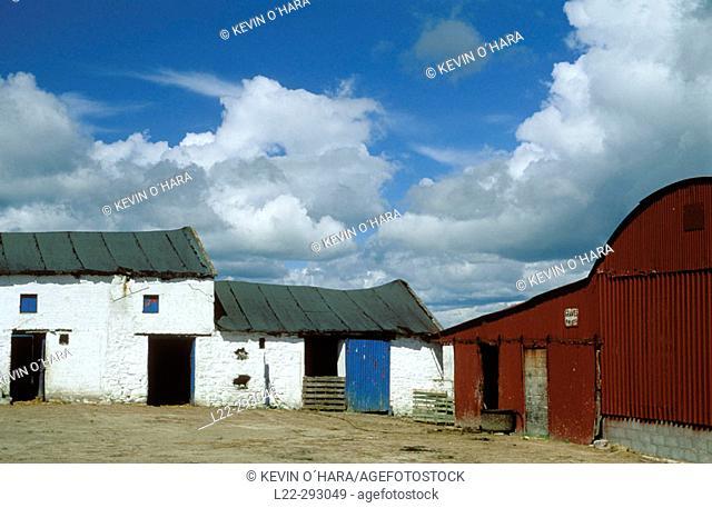 Old farm in Hook Head peninsula. Co. Wexford, Ireland