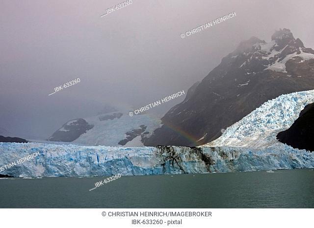Spegazzini Glacier at lake Lago Argentino, national park Los Glaciares, (Parque Nacional Los Glaciares), Patagonia, Argentina, South America
