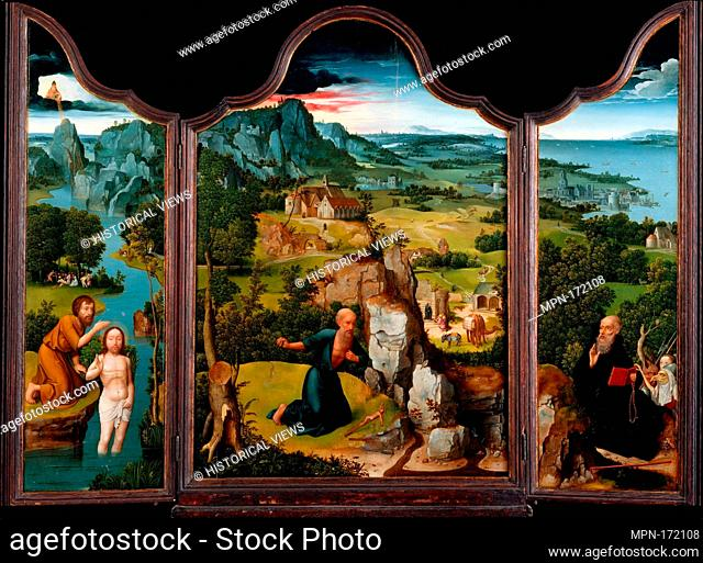 The Penitence of Saint Jerome. Artist: Joachim Patinir (Netherlandish, Dinant or Bouvignes, active by 1515-died 1524 Antwerp); Date: ca