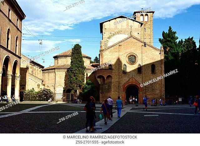 Santo Stefano basilica, Bologna, Emilia-Romagna, Italy, Europe