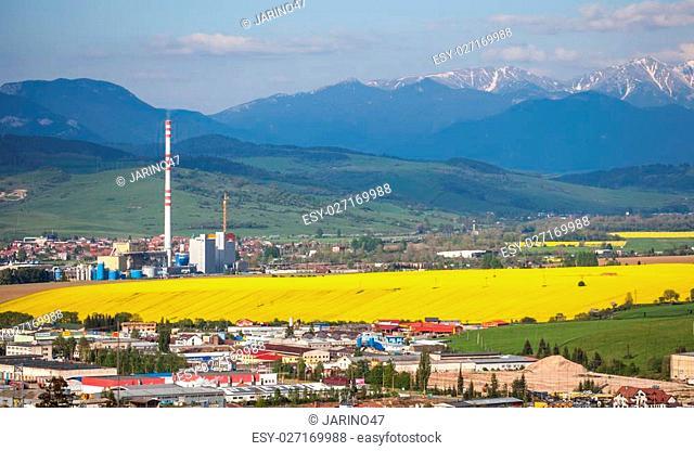 Town Ruzomberok, Slovakia
