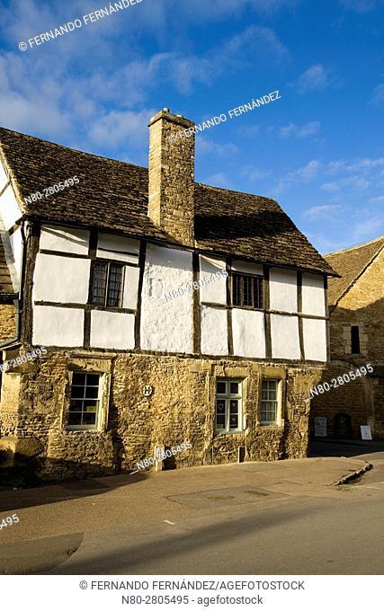 Lacock. Wiltshire. England
