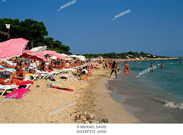 Spain - The Balearics - Ibiza - Playa Salinas