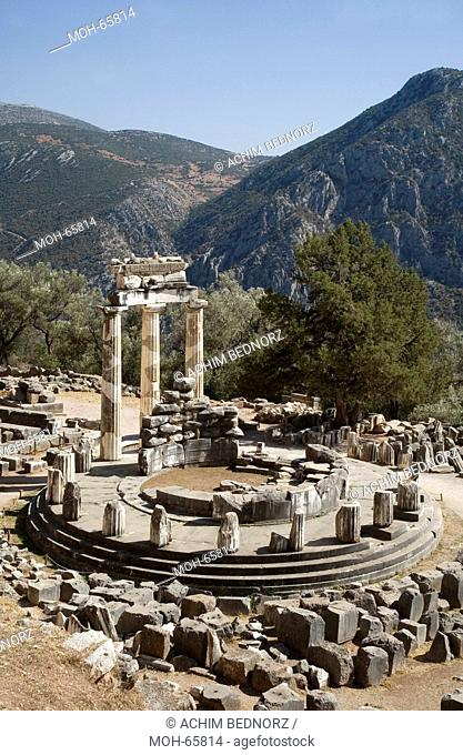 Tholos der Marmaria im Athena-Heiligtum