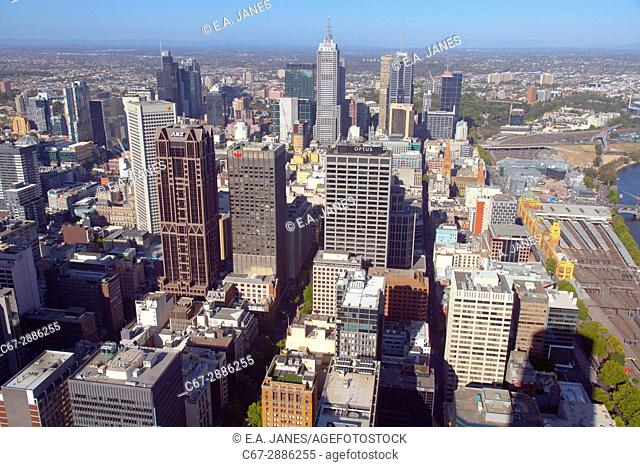 City of Melbourne Victoria Australia