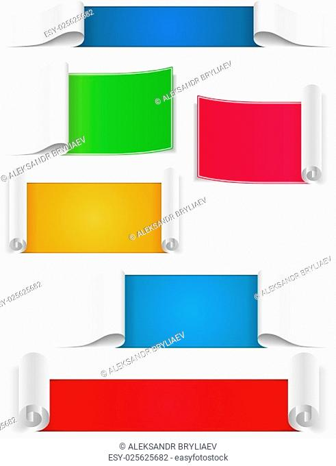Blank Paper Banners