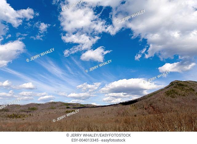 Clouds, Sky, Newfound Gap Road, Great Smoky Mountains National Park, TN