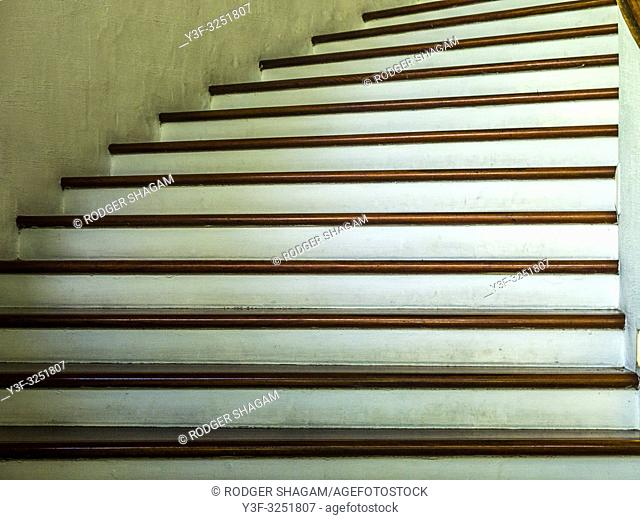 Tall, sweeping staircase. Cairns, Australia