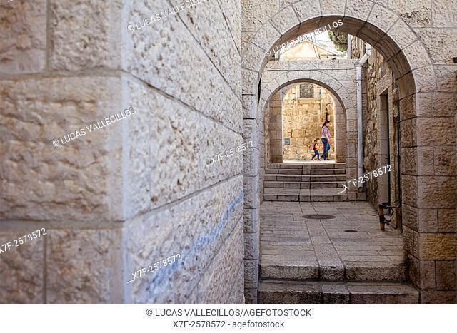 Ha Malakh Rd, Jewish Quarter, Old City, Jerusalem, Israel